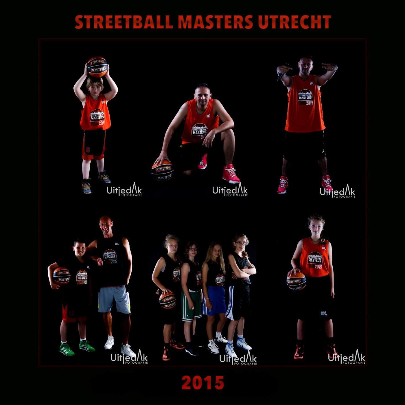 Streetball Masters Utrecht, studiofoto's Uitjedakfotografie
