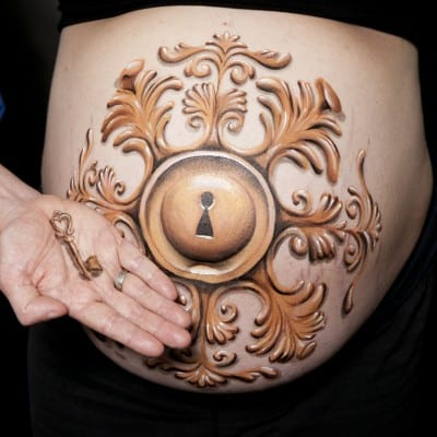 Bellypaint slot barok Tera Bakker