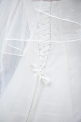 Trouwreportage trouwjurk UitjedakFotografie Nieuwegein, Utrecht
