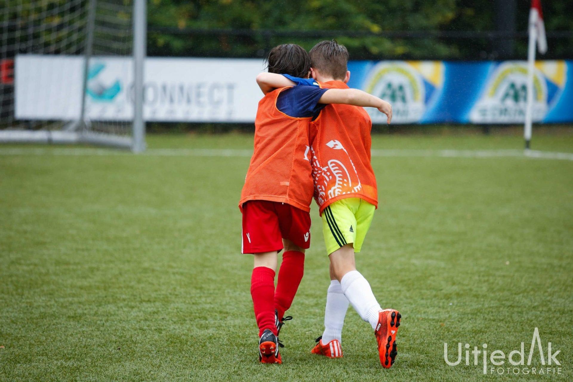 Sportfotografie Voetbal mini WK Nieuwegein